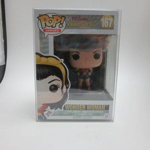 Wonder Woman Funko with protector